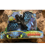 How to Train Your Dragon The Hidden World Deluxe Toothless Figure Brand New - $19.70