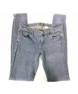 J Crew Women's City Fit Jeans Stretch Size 2 Skinny Leg Medium Wash Denim - $18.51