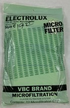 12 Style C Vacuum Bags Fits Electrolux Tanks New Old Stock by VBC Brand Sealed - $4.90