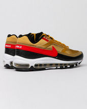 Nike Air Max 97 BW Metallic Gold Red Trainers image 3