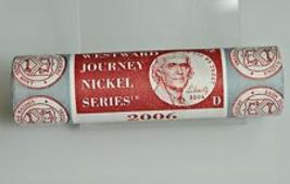 2006-D Return to Monticello Jefferson Nickel Roll 40-Coin Roll (Mint Wra... - $15.95