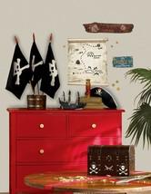 Pirate Ship Headboard Wall Mural 50-inch x 48-inch 14028 Wallies Wall Decals