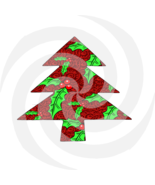 Christmas Tree 11t-Digital ClipArt-Gift Tag-Holiday-Scrapbook-Gift Card.  - $4.99