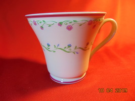 """3"""", Teacup, Town & Country, by Gorham China, Southern Charm w/Red Trim P... - $9.99"""