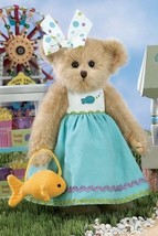 """Bearington Bears """"Goldie & Fish"""" 14"""" Collector Bear- Sku #143219 - 2010 - $39.99"""