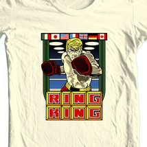 Ring king tshirt vintage retro arcade old school video game natural graphic tee thumb200