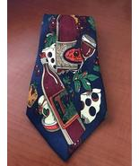 NEW novelty necktie Bread, wine and cheese  - $11.95
