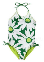 NWT Gymboree Daisy Reversible One Piece Swimsuit Wear - $24.99