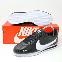 Nike Classic Cortez Premium Running Sneaker Black White sz 8 807480-004 ... - $84.14