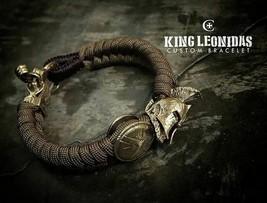 Wild Serpens Black Mamba Snake Head Solid Brass Bead