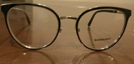 Burberry Eyeglass Frames Black/Gold Optical Frame 51mm - $149.59