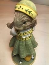 2002 Demdaco Woodsong Designs Seeds Of Friendship Rabbit Figurine - $12.77