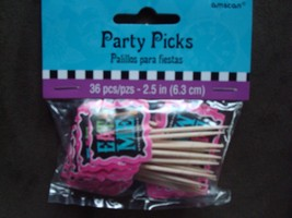 Mad Batter cupcake picks, Alice in Wonderland  cupcake decorations  - $6.88