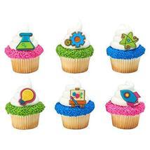 Stem Icons Cupcake Rings - 24 - $5.23