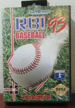 R.B.I. Baseball '93 (Sega Genesis, 1993) - $14.85