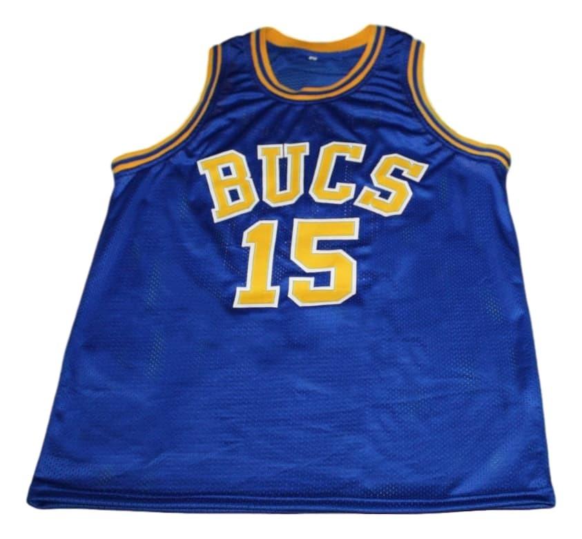 Vince Carter #15 Mainland Bucs New Men Basketball Jersey Blue Any Size
