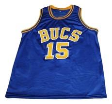 Vince Carter #15 Mainland Bucs New Men Basketball Jersey Blue Any Size image 1