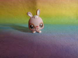 Littlest Pet Shop Light Pink Bunny Rabbit Nap Time With Babies #2629 HTF as is - $7.91