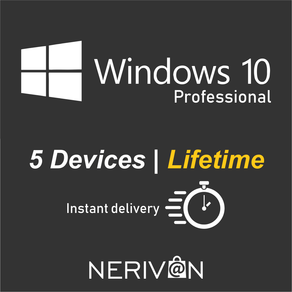Windows 10 pro 5 devices