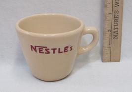 Vintage Nestles Coffee Cup Mug Inca Ware Stoneware Shenago China New Cas... - $10.88