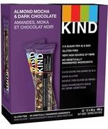 12 KIND Bar Dark Chocolate Almond Mocha Gluten Free 40 Grams FRESH DELIC... - $16.68