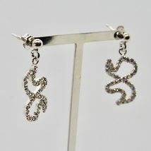 Drop Earrings Silver 925 Wings of Butterfly by Maria Ielpo Made in Italy image 3