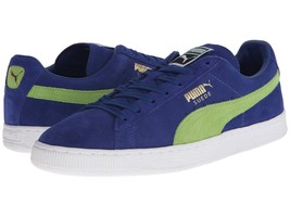 Men's PUMA Suede Classic+ Shoes, 356568 58 Sizes 7.5-12 Limoges/Jasmine ... - $79.95