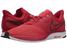 Men's Nike Zoom Strike Running Shoes, AJ0189 600 Multi Sizes Gym Red/Ant... - $79.95