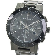 Burberry BU9381 The City Chronograph Ion Plated 42mm - Warranty - $470.00