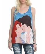 Disney The Little Mermaid Ariel & Eric Kiss Women's Tank Top Racerback S... - $12.62