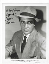 Sheldon Leonard Vintage Signed 8 x 10 Photo / Autographed - $19.39