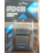 3 x Axe signature champion ticket body perfume Pocket Perfume,17 Ml 250 ... - $12.86