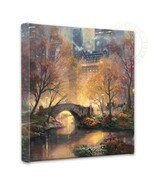 Thomas Kinkade Wickeln Central Park in The Fall 14 X 14 Verpackt Leinen - $89.00