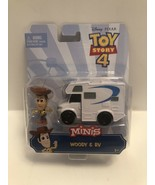 Disney Pixar Toy Story 4 Minis Woody and RV Toys Figure & Vehicle Set A25 - $8.95