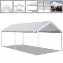 NEW Caravan Canopy Domain Basic 10ft x 20ft Portable Carport Shelter Gar... - $115.42
