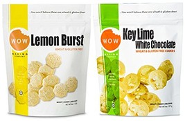 WOW Baking Company Cookies, Lemon Burst, Key Lime White Chocolate, 8-Oun... - $29.22