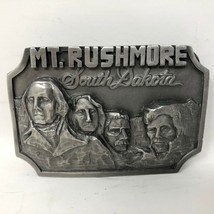 VTG Siskiyou Mt Rushmore Belt Buckle Presidents National Landmark 1980s ... - $34.64