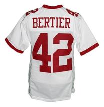 Bertier #42 T.C.Williams The Titans Movie New Men Football Jersey White Any Size image 4