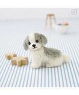 Japan Hamanaka Wool Needle Felting Kit - Shih Tzu - $10.99