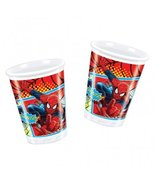 Ultimate Spiderman Party - Ultimate Spiderman Party Cups x 8 - $5.93