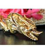 Sea Serpent Dragon Brooch Pin Asian Chinese Fig... - $54.95