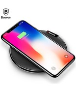 Qi Wireless Charger For iPhone X 8 Plus Samsung S8 S7 S6 Edge Fast Charg... - $27.95