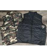 Swiss Tech ~ Men's Puffy Vest Camouflage Black 1-Vest ~ Choose Size & Color - $16.82+