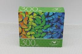 NEW 300 Piece Jigsaw Puzzle Cardinal Sealed 14 x 11, Pattern of Butterflies - $4.45