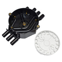 A-Team Performance Distributor Cap and Rotor Compatible with GM Vortec 262 Black image 3