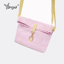 YBYT brand canvas women satchel preppy style coin purse female simple sh... - €12,80 EUR