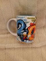 Disney Coffee Mug Cup 3D by Jerry Leigh Mickey Donald Goofy Pluto 2014 - $24.18