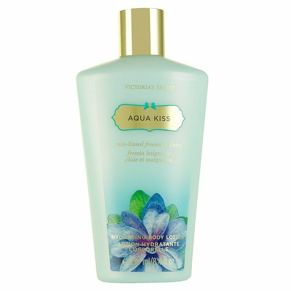 Primary image for Victoria'S Secret Aqua Kiss Hydrating Body Lotion, 250 ml/ 8.4 oz~MADE IN USA