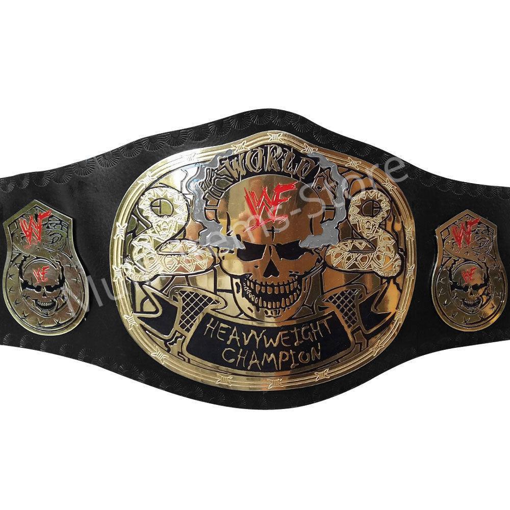 Stone Cold Smoking Skull World Heavyweight Champion Replica Belt 4mm