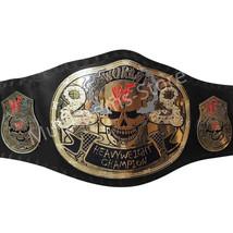 Stone Cold Smoking Skull World Heavyweight Champion Replica Belt 4mm image 1